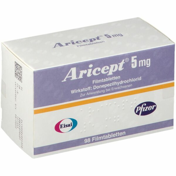 Aricept 5 mg