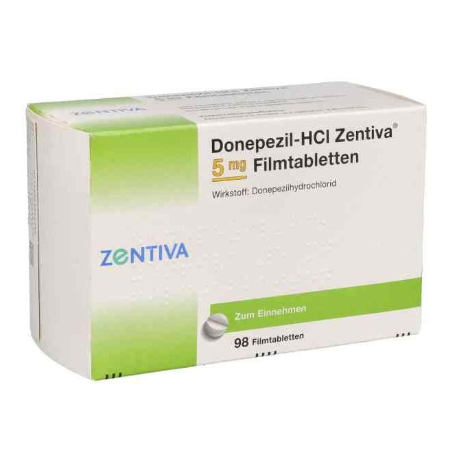 Donapezil-HCl Zentiva 5 mg